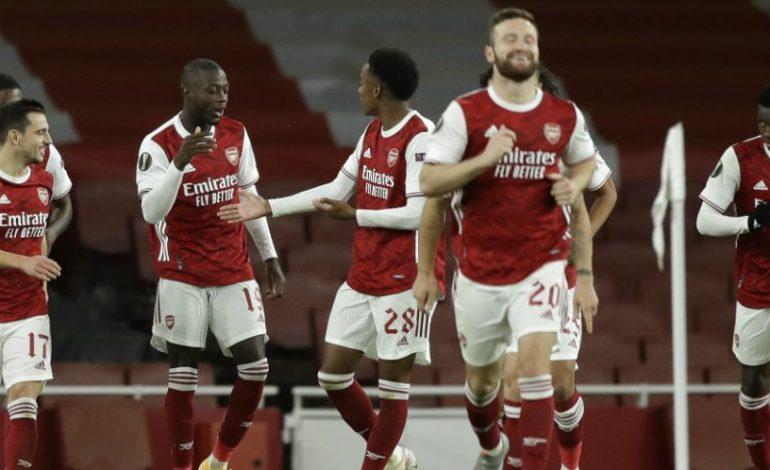 Hasil Pertandingan Arsenal vs Dundalk: Skor 3-0