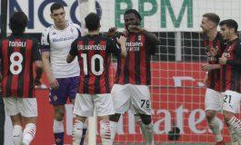 Hasil Pertandingan AC Milan vs Fiorentina: Skor 2-0