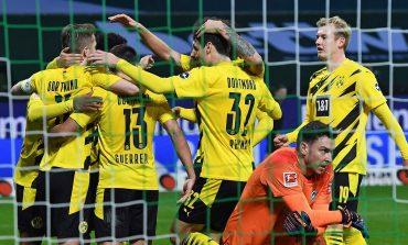 Bundesliga: Dortmund Tundukkan Bremen 2-1