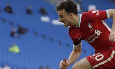 Cedera, Liverpool Dipastikan tak Diperkuat Diogo Jota Sekitar Delapan Pekan