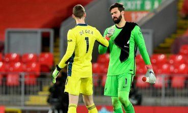 Duel Imbang di Anfield, Panggung Alisson Becker dan David De Gea