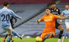 Hasil Pertandingan Manchester City vs Aston Villa: Skor 2-0