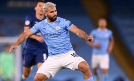 Striker Manchester City, Sergio Aguero Umumkan Dirinya Positif Covid-19