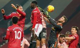 Hasil Pertandingan Manchester United vs Sheffield United: Skor 1-2