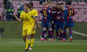 Hasil Pertandingan Barcelona vs Cadiz: Skor 1-1