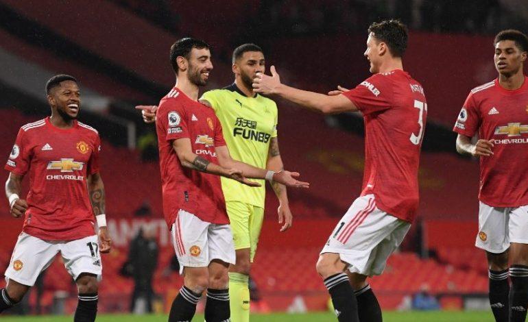 Hasil Pertandingan Manchester United vs Newcastle: Skor 3-1
