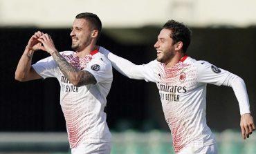 Verona vs AC Milan: Tanpa Ibrahimovic, Rossoneri Menang 2-0