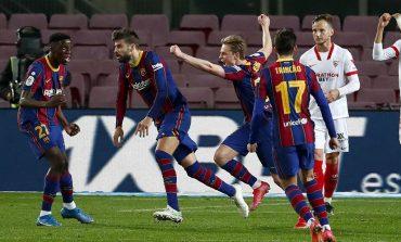Hasil Pertandingan Barcelona vs Sevilla: Skor 3-0