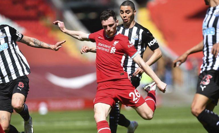 Robertson Muak Pada Liverpool, Isyaratkan tak Puas Pada Mane dkk?