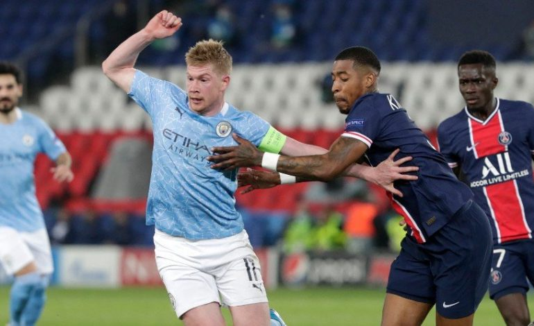 Man of the Match PSG vs Manchester City: Kevin De Bruyne