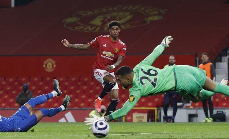 Hasil Pertandingan Manchester United vs Brighton: Skor 2-1