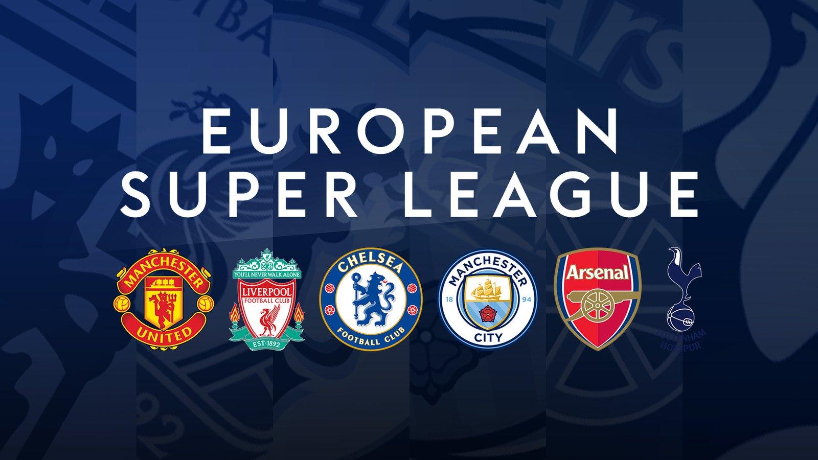 Gagas European Super League, The Big Six Didenda Rp 443 Miliar