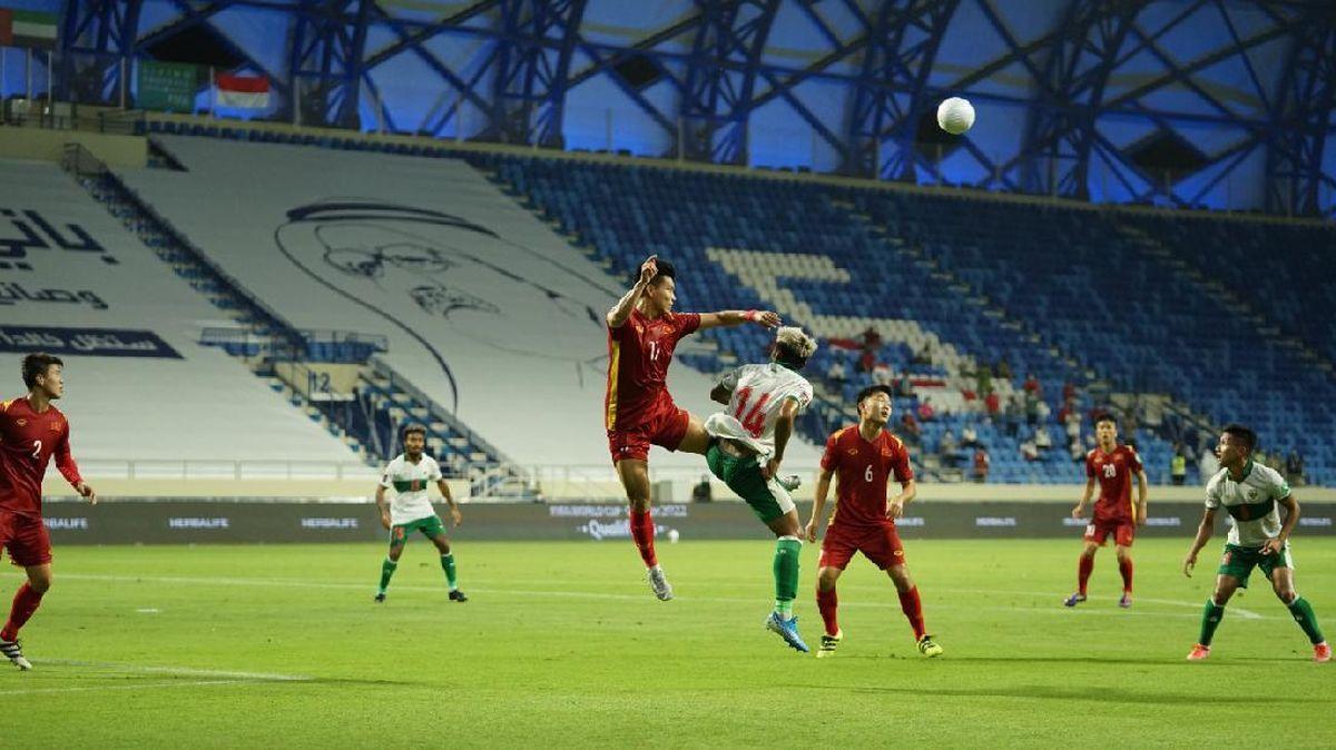 Indonesia vs Vietnam: Skuad Garuda Dihajar 0-4