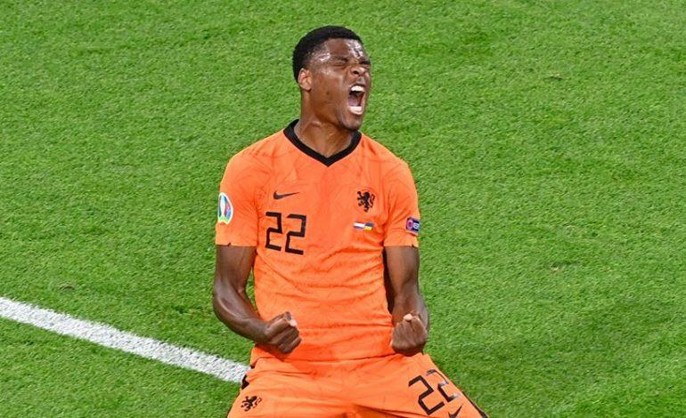 Man of the Match Belanda vs Ukraina: Denzel Dumfries