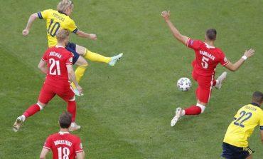 Hasil Euro 2020 Swedia vs Polandia: Skor 3-2