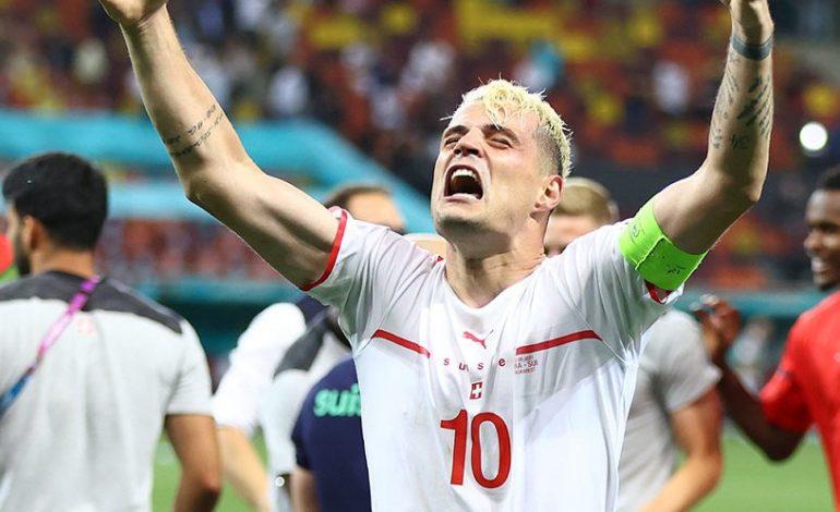 Impresif di Euro 2020, Granit Xhaka Bikin Juventus Ikut Kesengsem