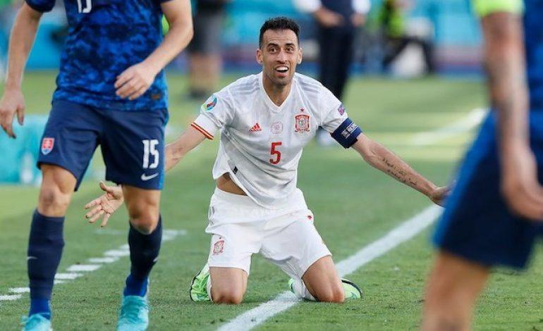 Man of the Match Slovakia vs Spanyol: Sergio Busquets