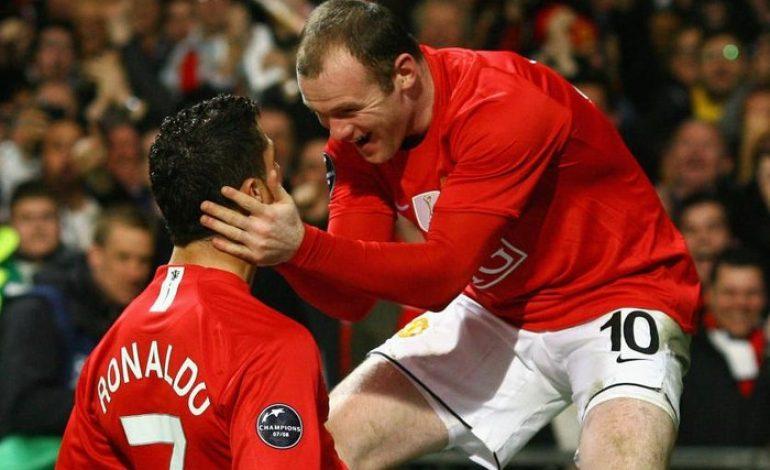 Amankah Rekor Gol Wayne Rooney dari Cristiano Ronaldo?