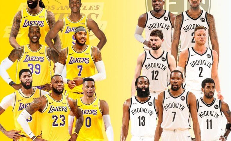 NBA Preseason, Lakers Kalah Dari Nets