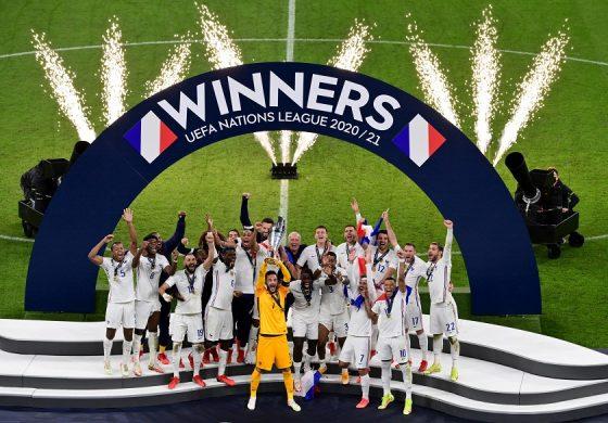 Prancis Juara EUFA Nations League