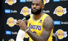 NBA Preseason - Lakers Bermain Buruk, Lebron James Percaya Proses