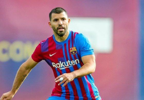 Debut Bersama Barcelona, Kun Aguero Cetak Gol